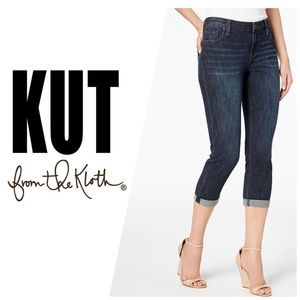 Kut from the Kloth Bardot Skinny Boyfriend Jeans👖